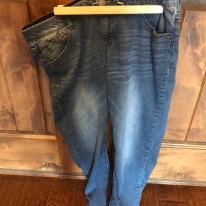 Wit & Wisdom Ankle Skimmer Jeans 16W